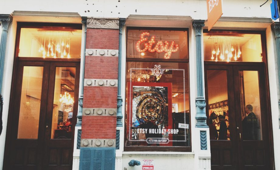 Etsy reopens Pop-Up Store in Paris for the Holidays!