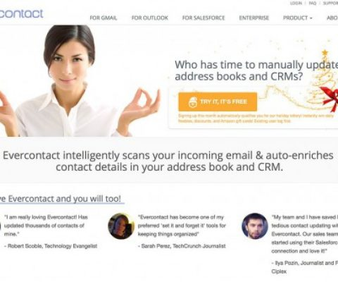 Evercontact raises $1 million from AXA to boost its international presence
