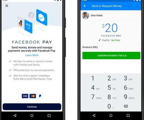 Facebook Pay, une solution de paiement pour toutes les applis du groupe