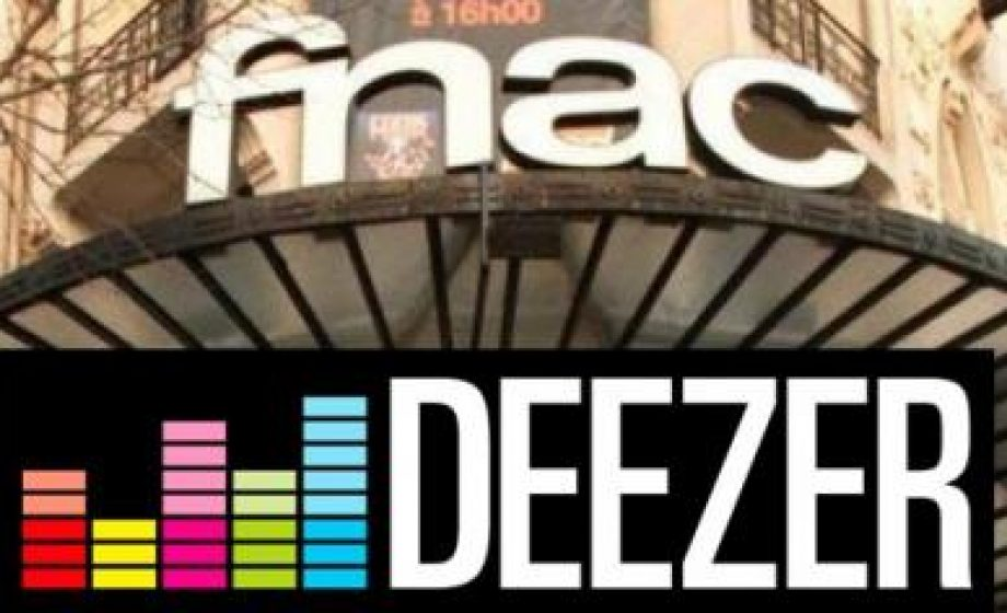 Deezer teams up with FNAC to suggest concert tickets to users