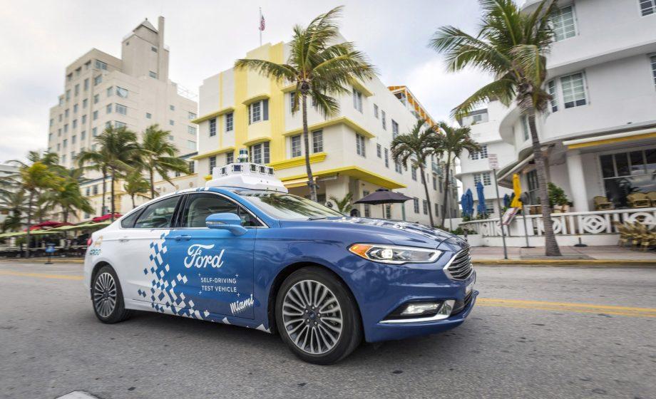 Ford va tester ses véhicules autonomes en conditions réelles à Miami
