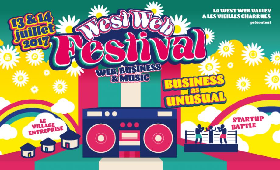 Concerts, web et business au West Web Fest cette semaine