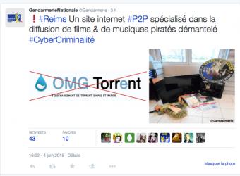 Procès de l'administrateur d'OMG Torrent: 8 mois de prison ferme et 5 millions d'amende