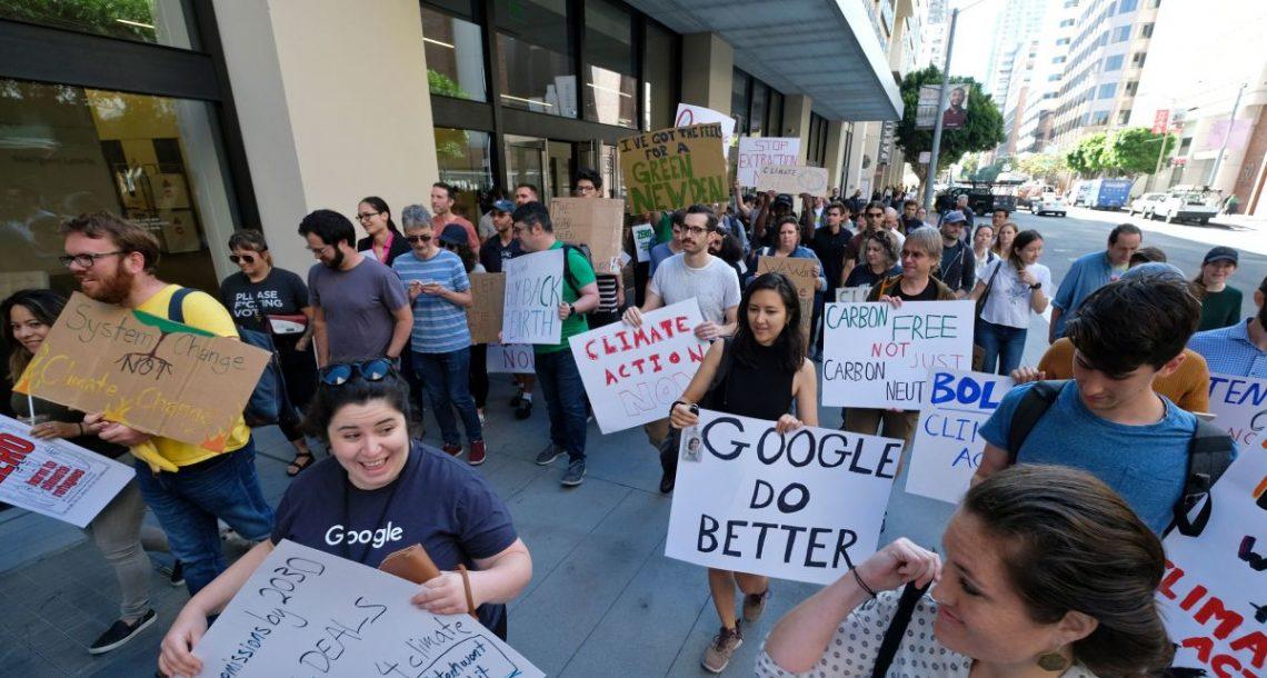 Les salariés de Google veulent que le géant du net fasse plus pour le climat