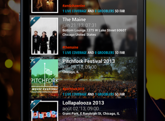 After winning Startup World Paris, Grooblin launches its social events app for iOS