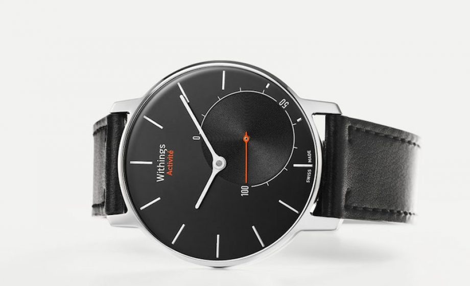 "Withings brings together ""connected"" and ""fashion"" inside a smart watch"