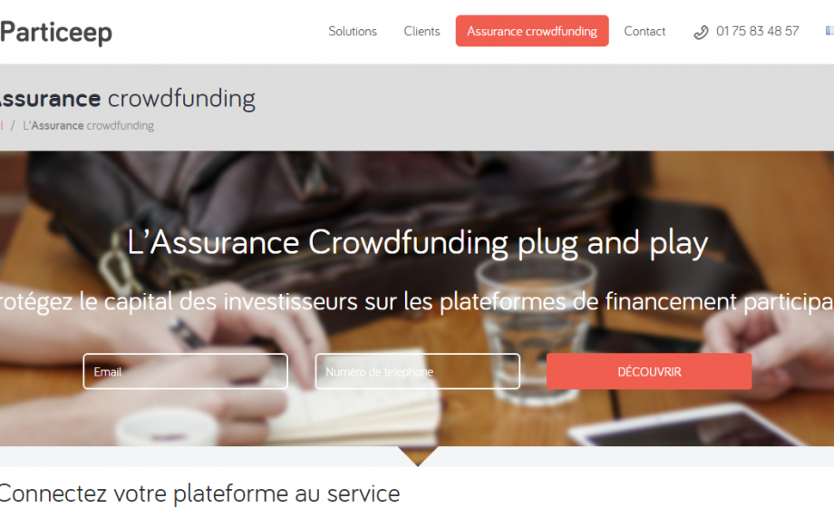 Particeep partners with AXA for plug and play crowdfunding insurance