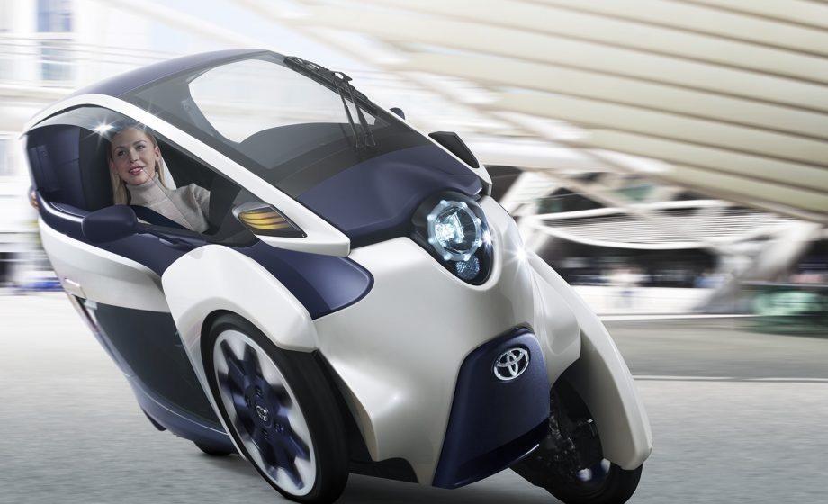 [SPONSORED] The Toyota i-ROAD: a solution to France's urban traffic problems?