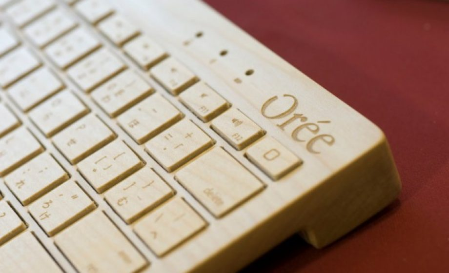 Wooden keyboard maker Orée to announce new line of products in September