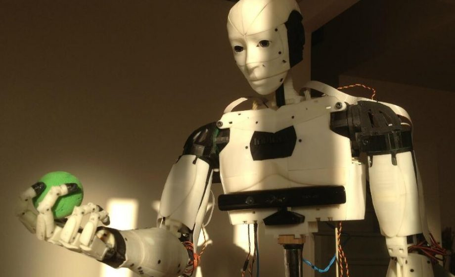 Democratizing Robotics: InMoov lends the future of AI a hand