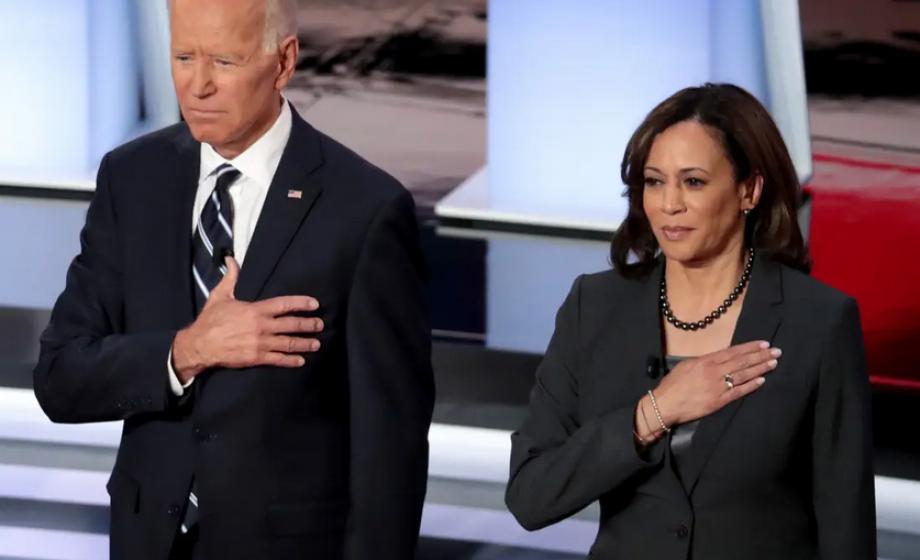 Kamala Harris, la vice-présidente du candidat Joe Biden, est une proche de la Silicon Valley