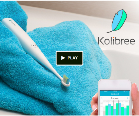 Kolibree launches Kickstarter Campaign for its Connected Toothbrush