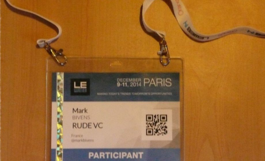 My five takeaways from LeWeb Conference