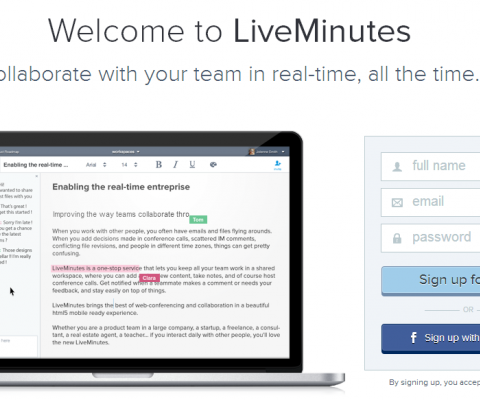 LiveMinutes raises $1.4M from US investors as it pushes into the crowded real-time collaboration space