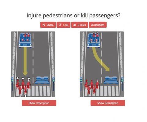 Voiture autonome: en cas de crash, qui doit-elle sauver (et sacrifier) ?