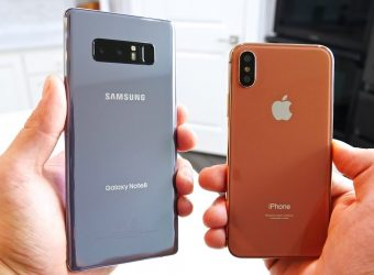 iPhone X vs Note 8 : un match nul qui profitera finalement à Samsung