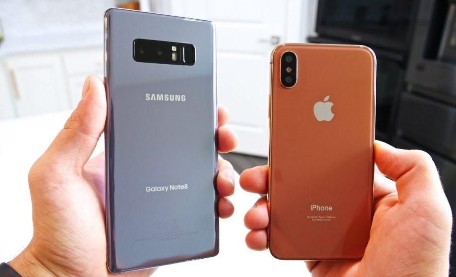 iPhone X vs Note 8: un match nul qui profitera finalement à Samsung