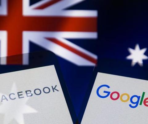 Médias: l'Australie proche d'un accord historique avec Google et Facebook