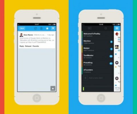 Let Mention's iPhone app keep track of Social Media while you are on vacation