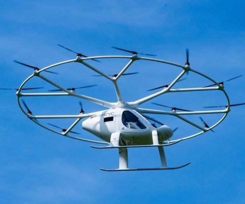 Mobilité urbaine aérienne: Volocopter obtient une certification européenne