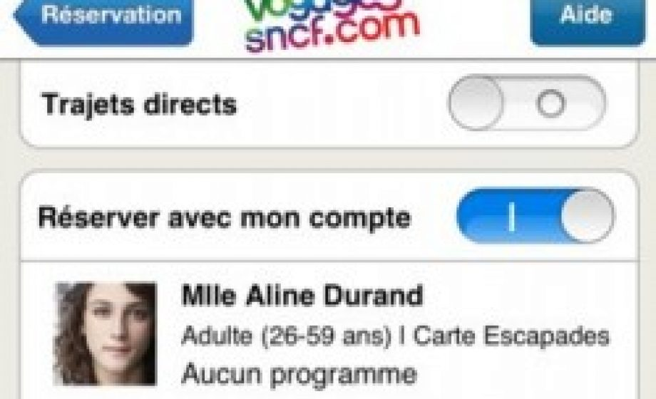 SNCF iOS app now stores user info. Can Capitaine Train compete?
