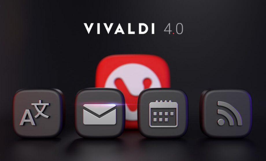 Le navigateur Vivaldiintègre désormais un client mail et un calendrier