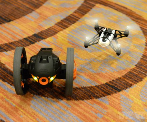 [CES 2014] Parrot shows off its yet-to-launch low-cost Mini Drone & Two-Wheeler