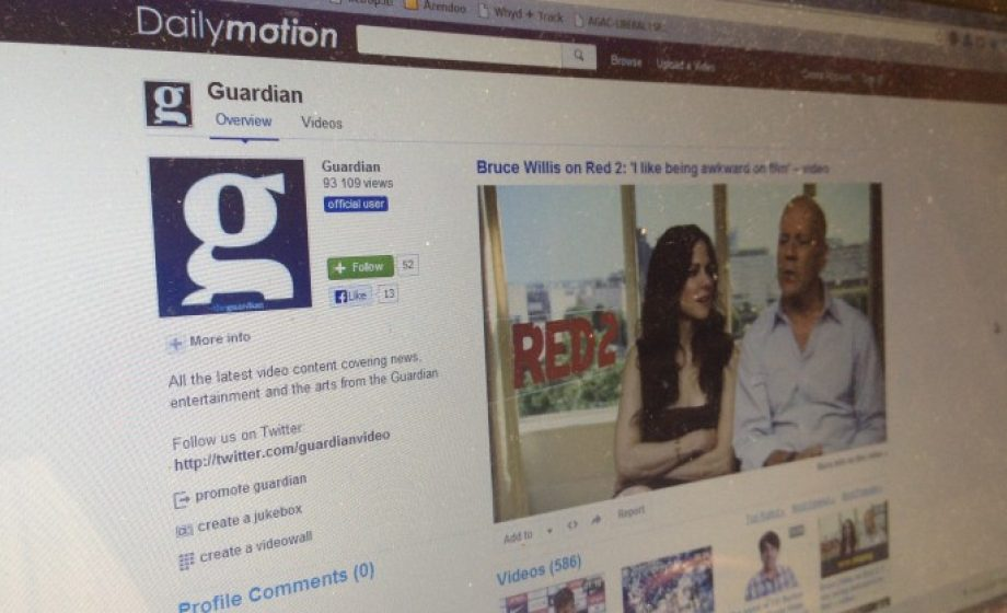 The Guardian launches dedicated Dailymotion channel with 700+ hours of video