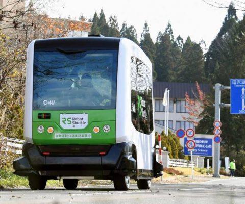 Japon: des navettes autonomes pour les personnes âgées
