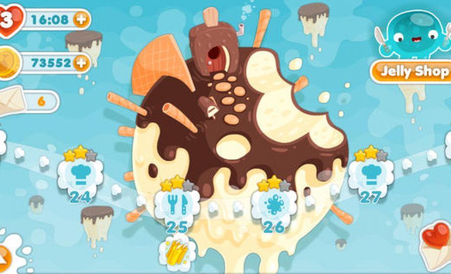 Royal Cactus brings its popular Facebook game Jelly Glutton on iOS