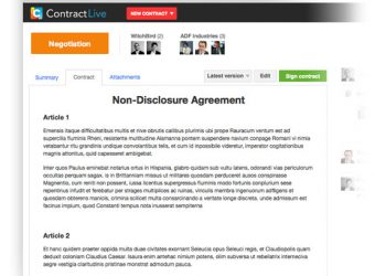 Contract Live launches next-gen contract management platform with in-app negotiations