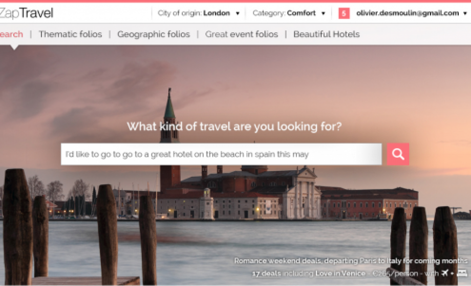 Check out ZapTravel's virtual Travel Agent for your next weekend trip!