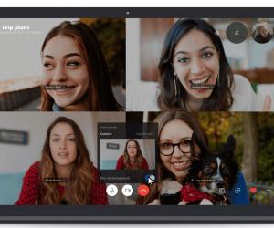Si vous le souhaitez, Skype peut rendre votre arrière-plan flou