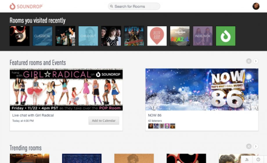 Collaborative listening platform Soundrop expands beyond Spotify; now available to Deezer users