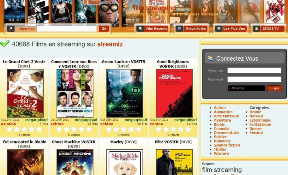 France : 83 millions d'euros d'amende pour l'administrateur d'un site de streaming illégal !