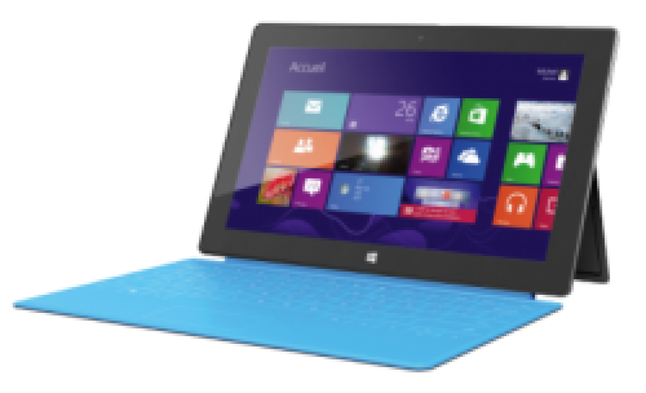 Microsoft Surface now available in stores in France