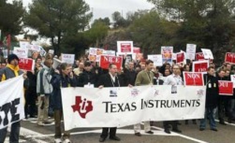 Texas Instruments closes its French operations – not saying OUI to France