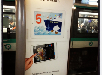 Les Trois Elles – the Education App featured in Apple's latest iPad ad campaign
