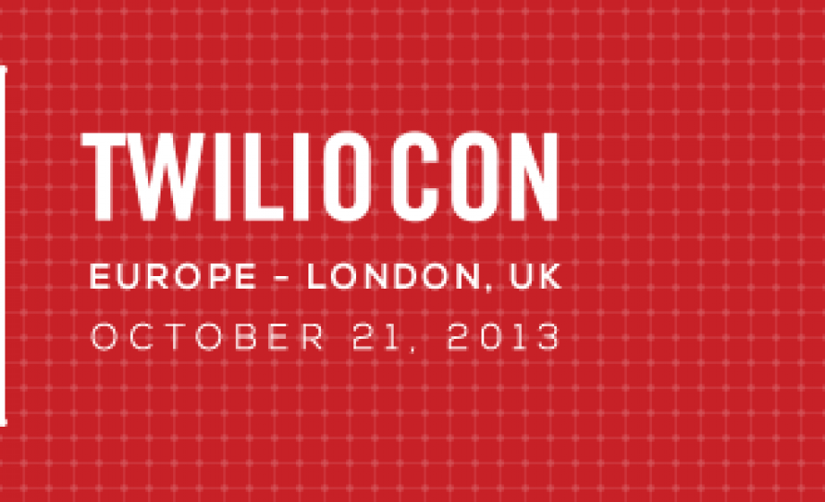 TwilioCon brings the best of Twilio to Europe on October 21st