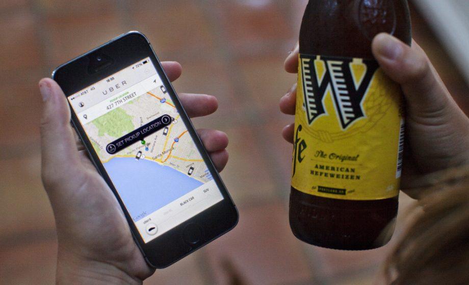 Uber teste une application pour déterminer si ses utilisateurs sont ivres!