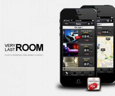 With growth in France, Spain & Belgium, last minute hotel reservation app VeryLastRoom raises €1.5 Million