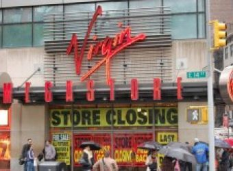 Is Virgin Megastore going bust?