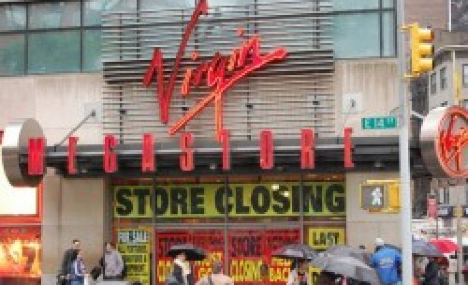 Is Virgin Megastore going bust?
