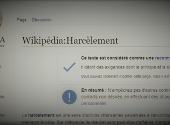 Wikipedia se remet en cause pour lutter contre le harcèlement