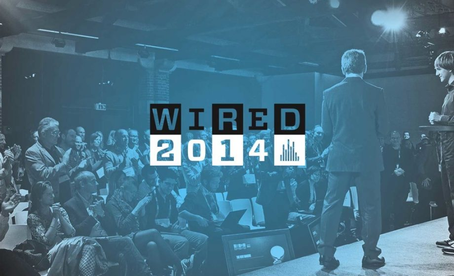 WIRED2014 brings the future closer on 16 – 17 October